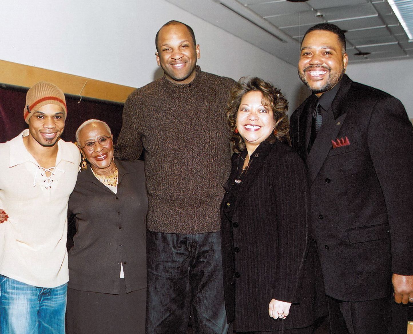 Lynn with Kirk Franklin, Rev